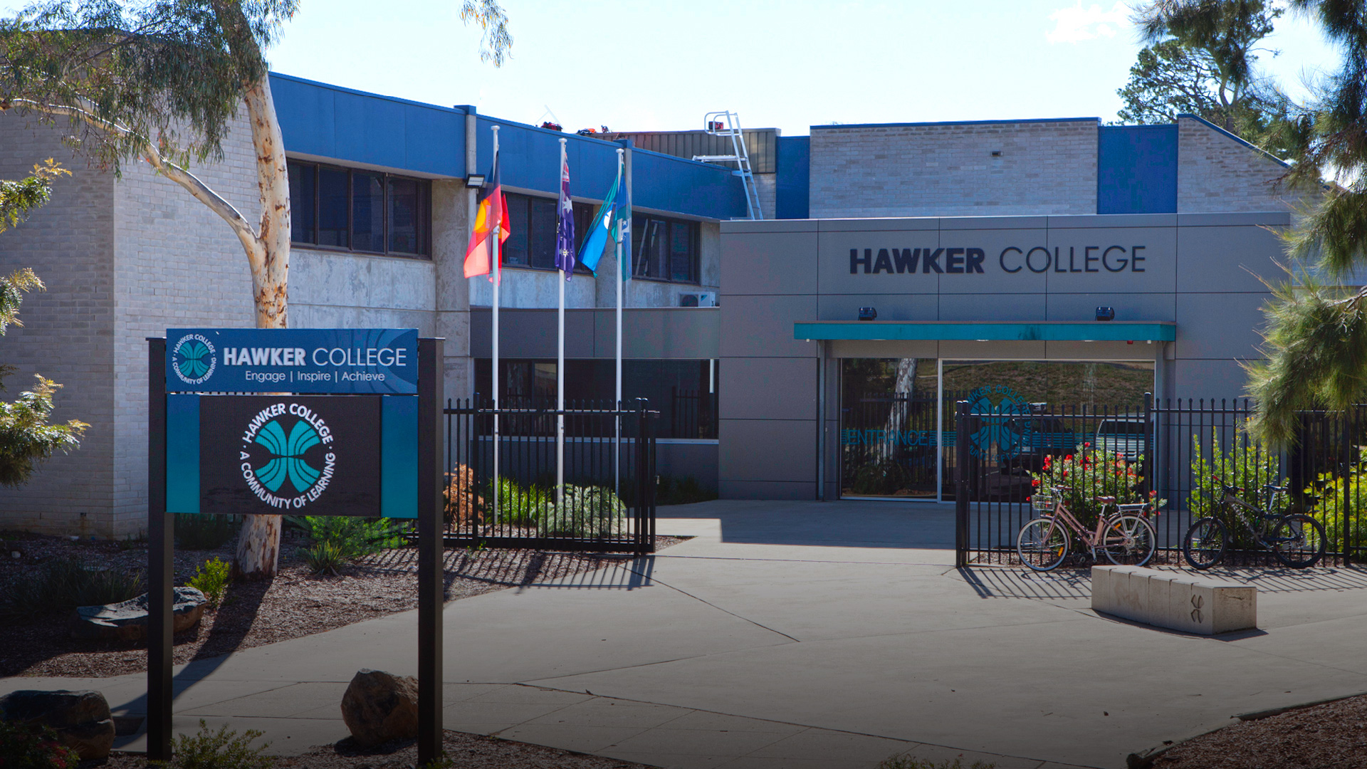 Hawker College Front