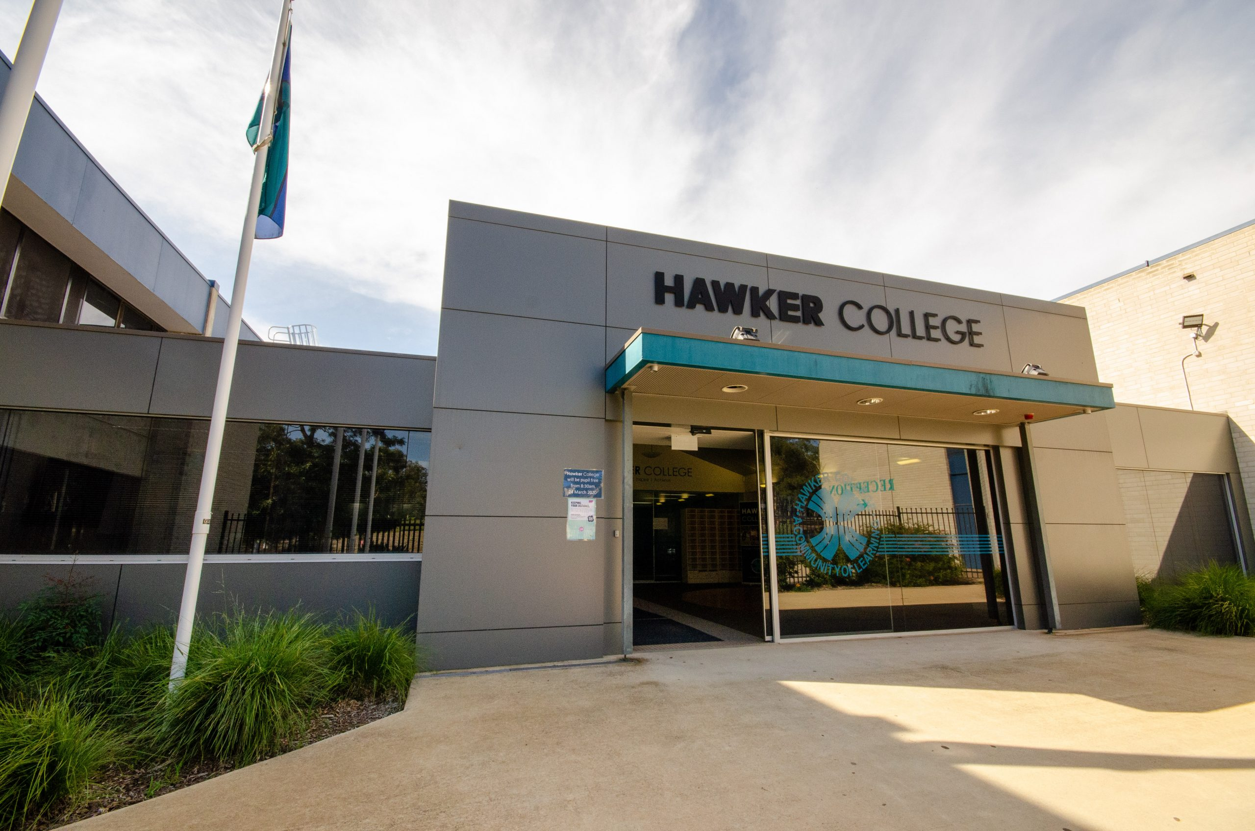 Hawker College Front Entrance