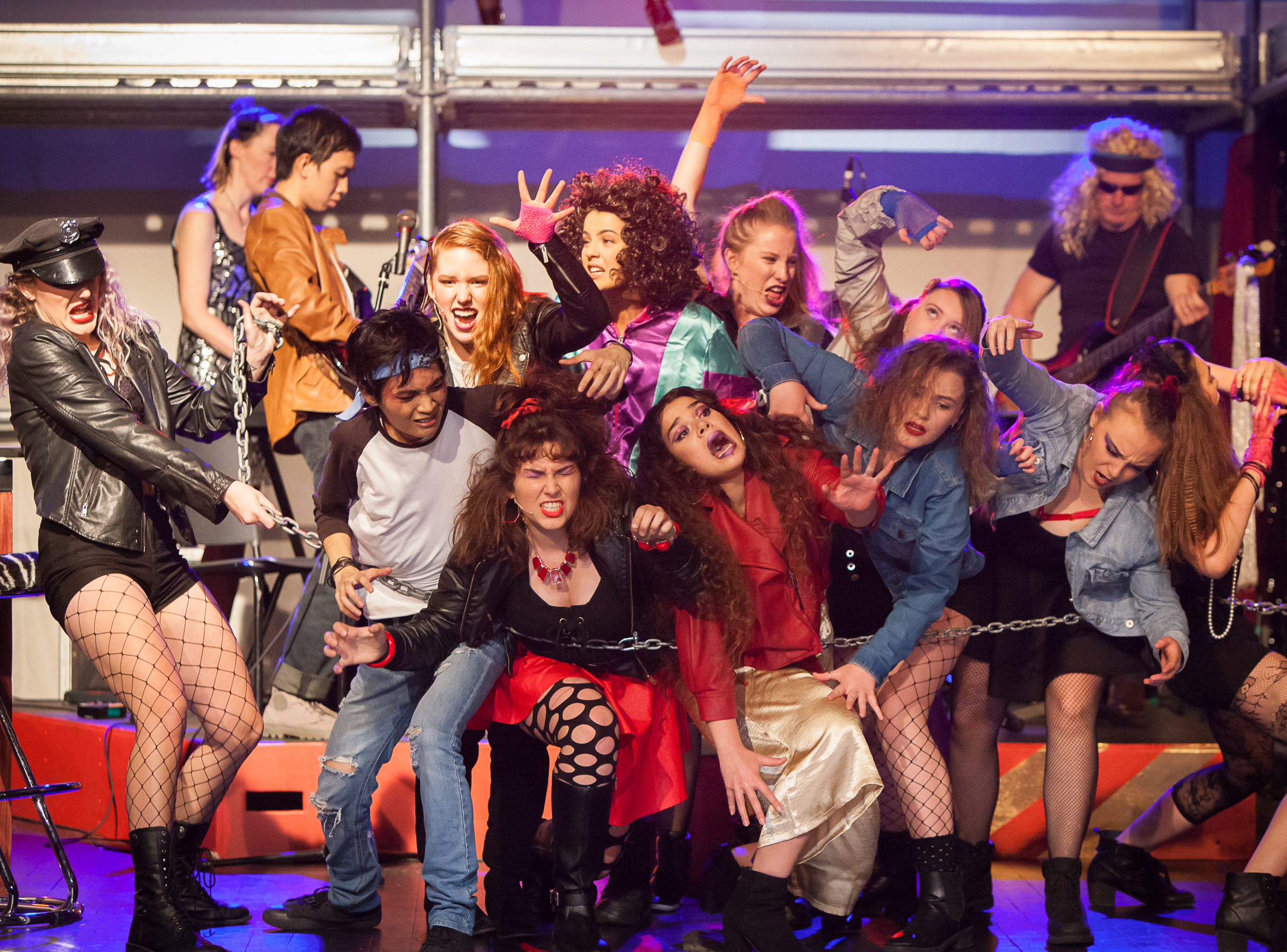 Rock of ages performance
