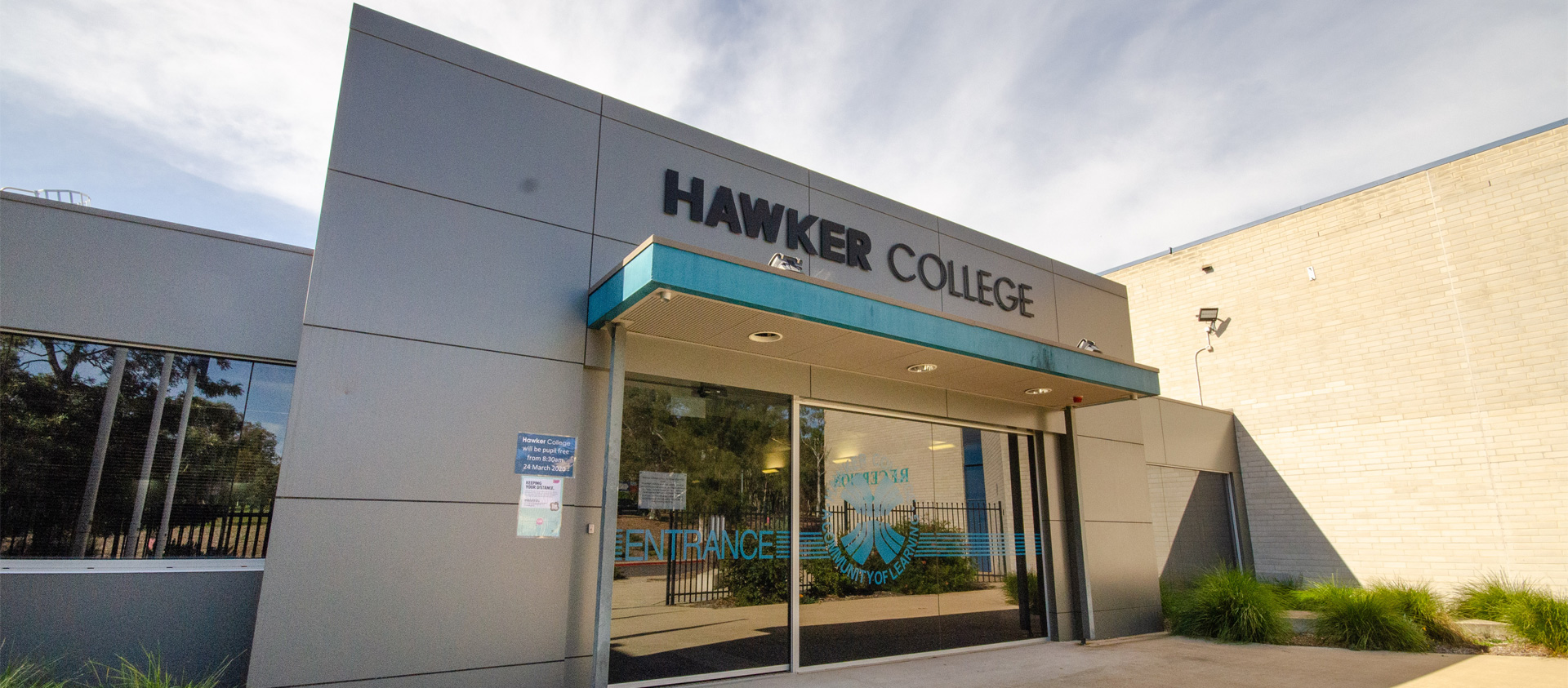 Hawker College Entrance